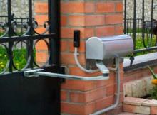 Электромеханические приводы для распашных ворот